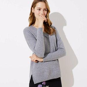 🆕 LOFT Drop Shoulder V-Neck Sweater 482360 $59.50